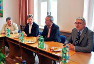 Oficiální návštěva ve Valašském Meziříčí