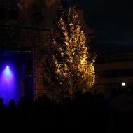 Adventní světýlka na náměstí