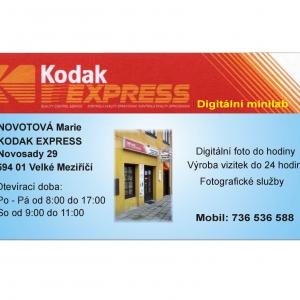 Kodak Express Novotová Marie