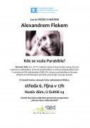 Večer s hostem Alexandrem Flekem